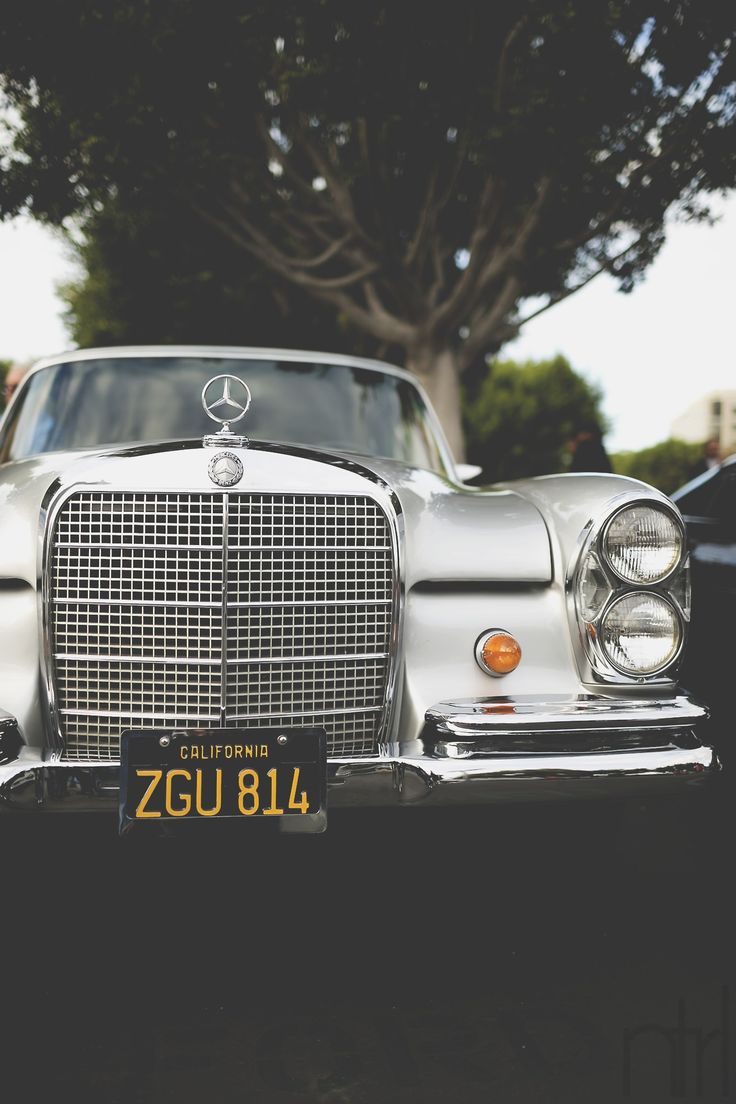 Nothing quite compares to the grill on a classic Mercedes.