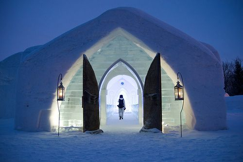 This Ice Hotel is built every year near Quebec City. Inside, each room has its own design. That is an interesting challenge for architecture students, who take part of this adventure. The hotel has a chapel, a sauna, and a bar, where you can drink so We have the latest e-cigarette models and a great variety of e-liquid flavors. Visit us at www.e-cigarilicious.com
