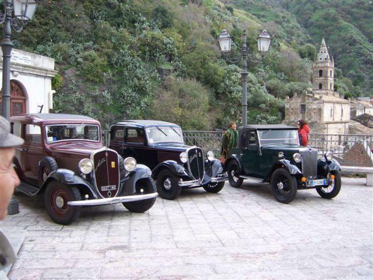 Alla scoperta di auto antiche. Su Nuvolari!