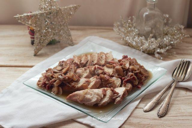 Pechuga de pollo en salsa castellana en Cookeo