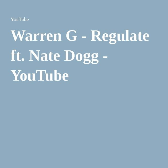 regulate warren g nate dogg mp3