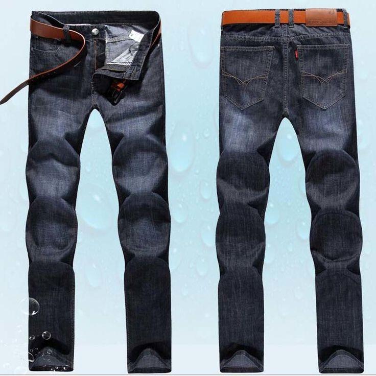 >> Click to Buy << Black Denim Men Jean Slim Cotton Straight Zipper Skinny Diseler Jeans Pants men's Brand 2017 Casual Trousers biker  Colour #Affiliate