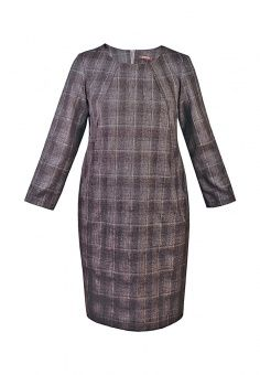 Платье, Spicery, цвет: коричневый. Артикул: MP002XW0DSK5. Женская одежда / Платья и сарафаны