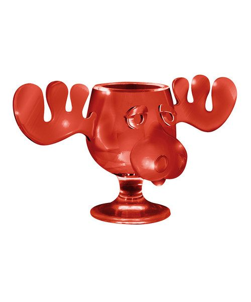 Take a look at this Red Christmas Vacation Moose Mug on zulily today!