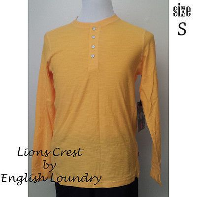 Lion Crest by English Laundry men size S yellow #shirt long sleeve NWT visit our ebay store at  http://stores.ebay.com/esquirestore