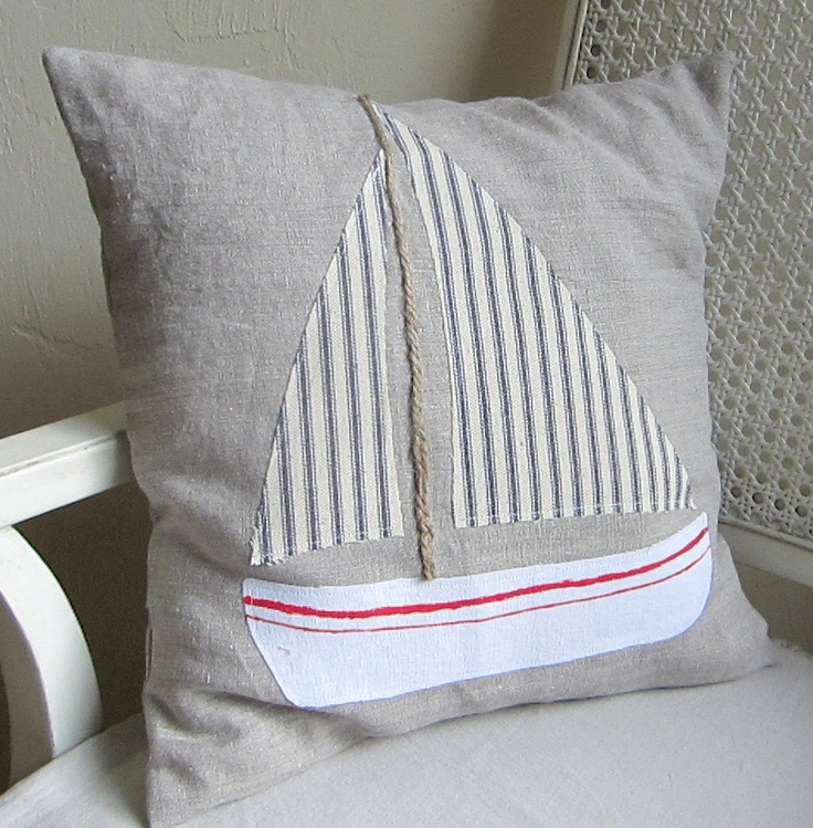 Regatta pillow cover by agoodhome on Etsy, $35.00