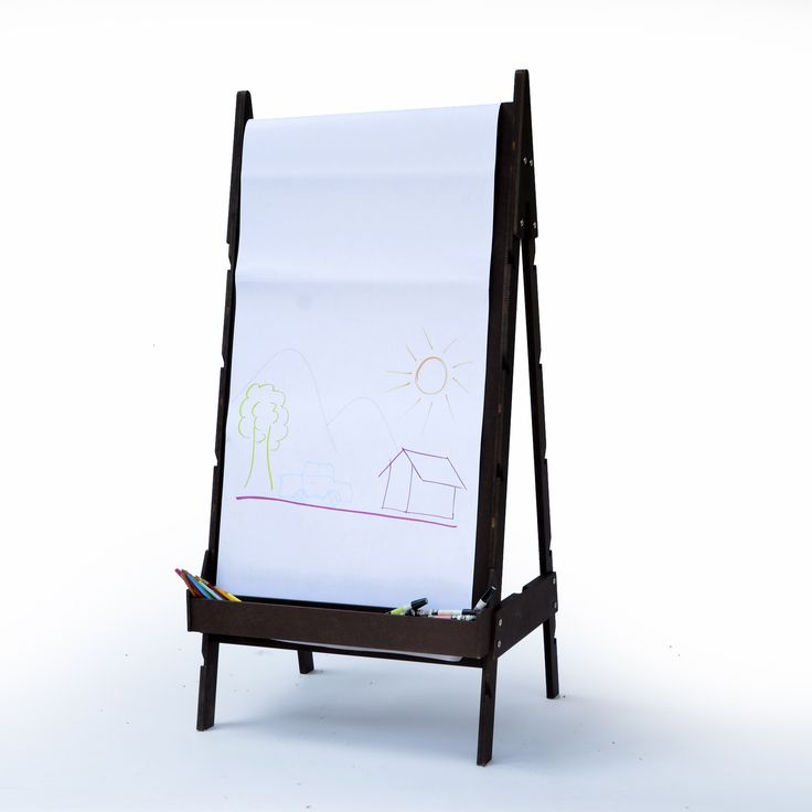 Caballete de madera Rocinante, pensado para niños utilizado por todos.