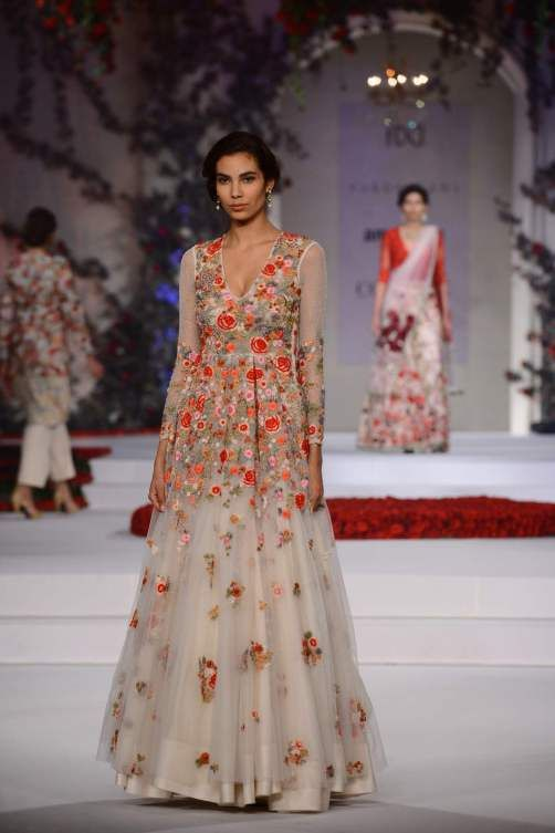 Varun Bahl Song of the Flower Collection - India Couture Week 2015