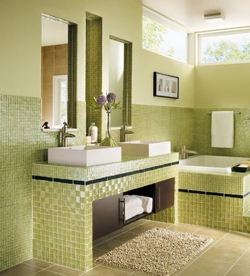 astounding design ideas for lime green bathroom decoration killer lime green bathroom design with square white bathroom vessel sink including green mosaic