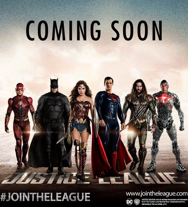 New 'Justice League' promo photo includes Superman - http://moviesandcomics.com/index.php/2017/04/23/new-justice-league-promo-photo-includes-superman/