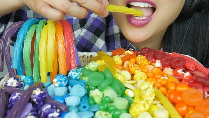 Asmr Eating Sounds Love Is Love Period Happy Pride Month Link In Bio Leave To Support Our Friends In This Community The only thing pink is her lips. asmr eating sounds love is love