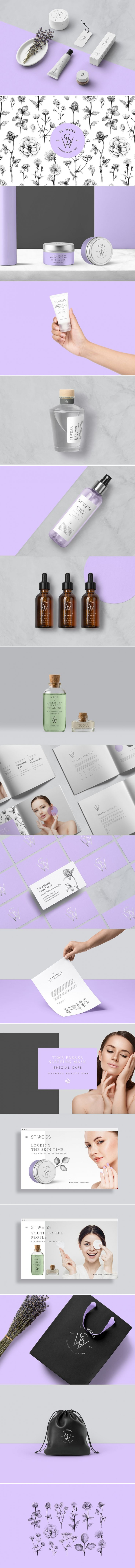 St. Weiss is an Elegant Mexican Skincare Brand — The Dieline   Packaging & Branding Design & Innovation News