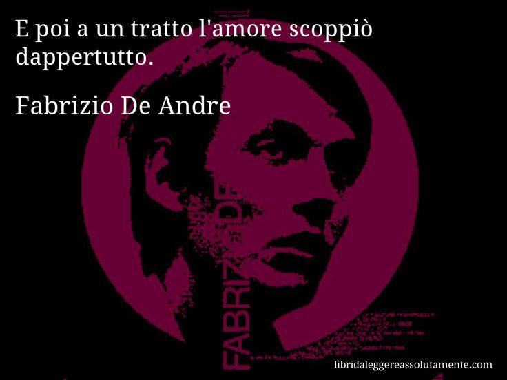 Cartolina con aforisma di Fabrizio De Andre (42)