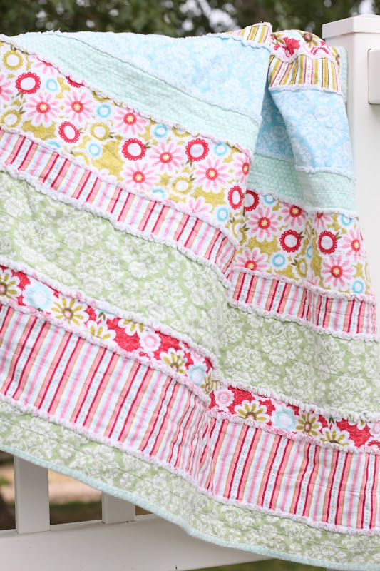 do it yourself divas: DIY: Baby Rag Quilt