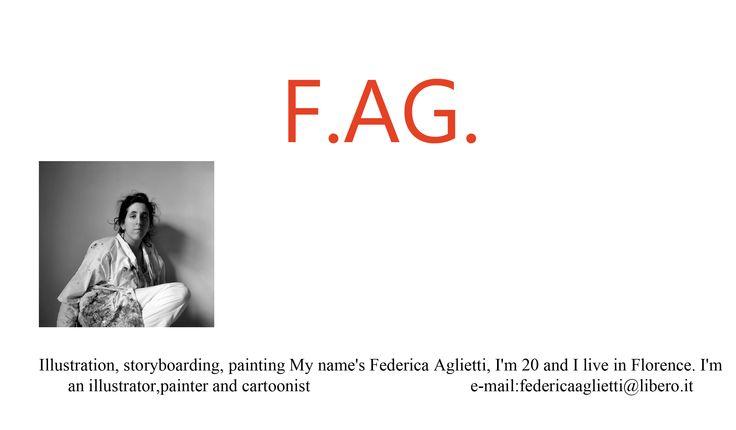 This's my blog on Tumblr. Follow the link: http://fag-federicaaglietti.tumblr.com/
