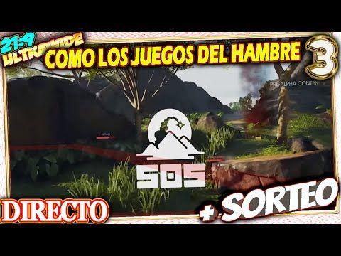 🔴 COMO LOS JUEGOS DEL HAMBRE 😱 SOS Alpha #3 Gameplay Español 21:9 + LIKE...