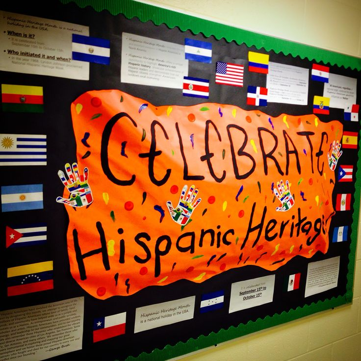 17 Best Ideas About Hispanic Heritage Month On Pinterest