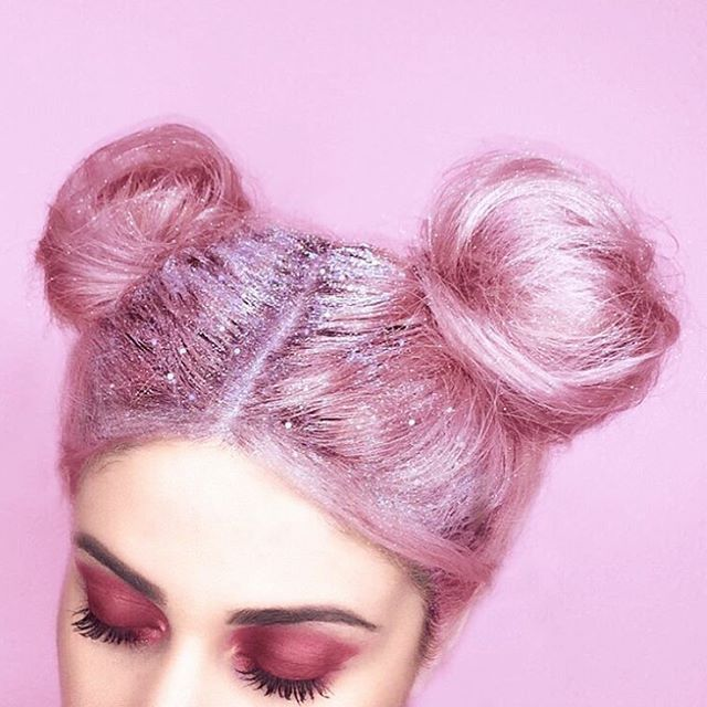 Cotton candy hair More