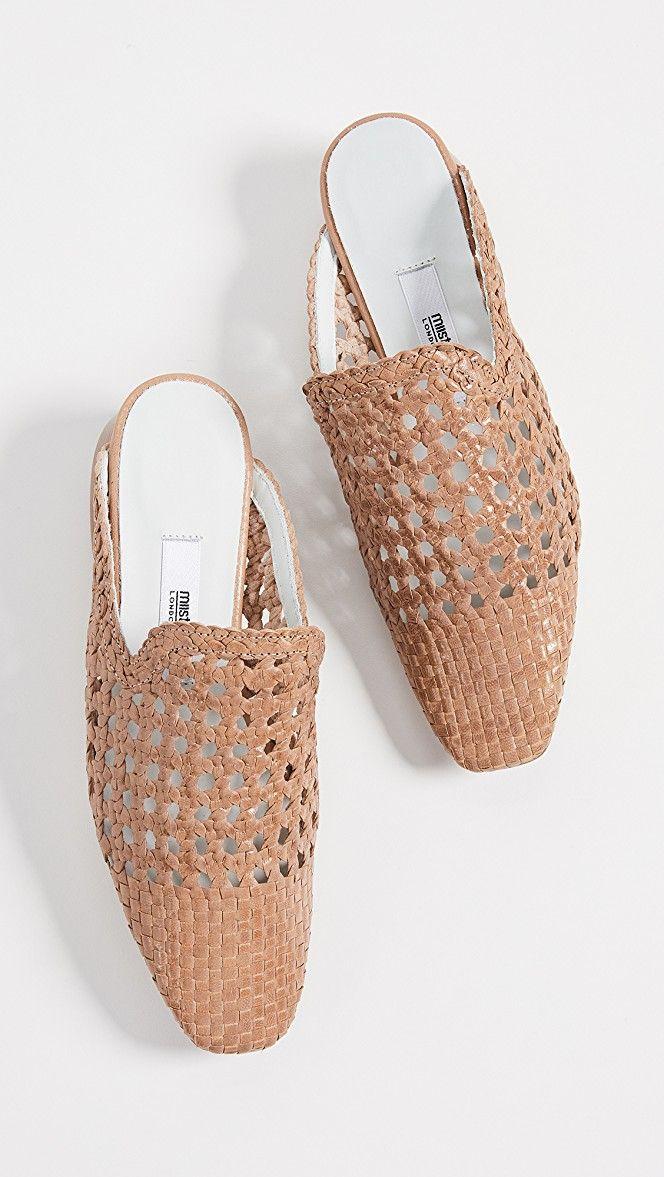 7d6b8efbcf9f2 Ida Block Heel Mules in 2019   Fashion- Shoes   Heeled mules, Block ...