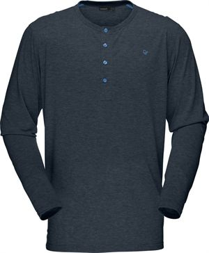 Norröna REA! M's Falketind Long Sleeve Shirt - Cool Black (7760)