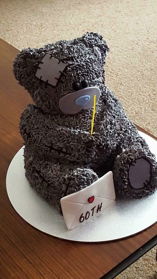 Best friends bear cake