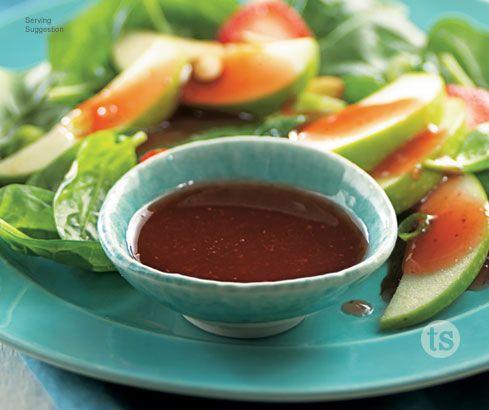 Strawberry Champagne Vinaigrette Salad