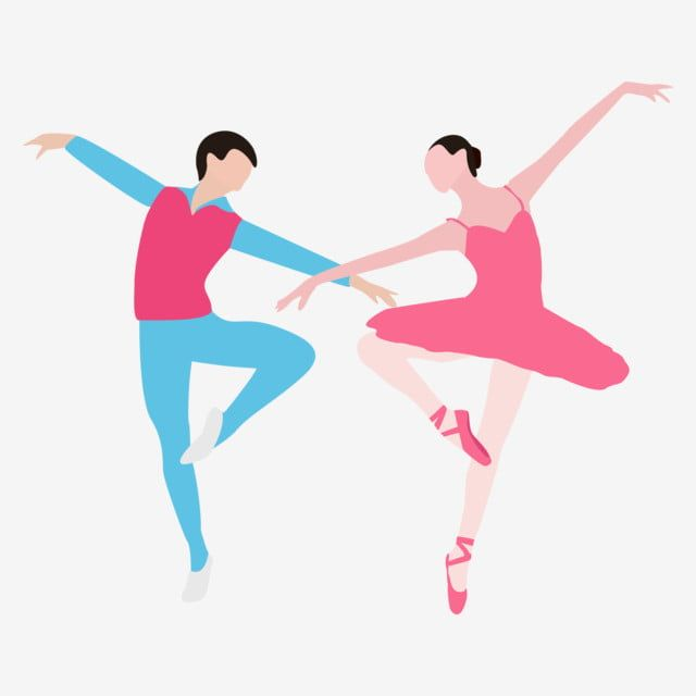 Ballet Dancing Double Ballet Dance Dance Clipart Beautiful Entertainment Png And Vector With Transparent Background For Free Download Dancing Clipart Dance Background Dance Vector