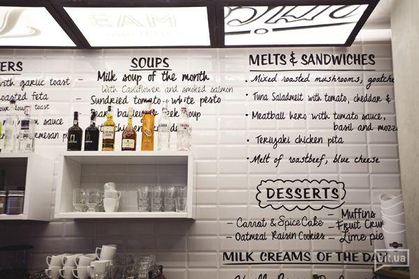 Новое заведение: Milk Bar - здесь не только о молоке. Первая неделя работы и очередь у входа.