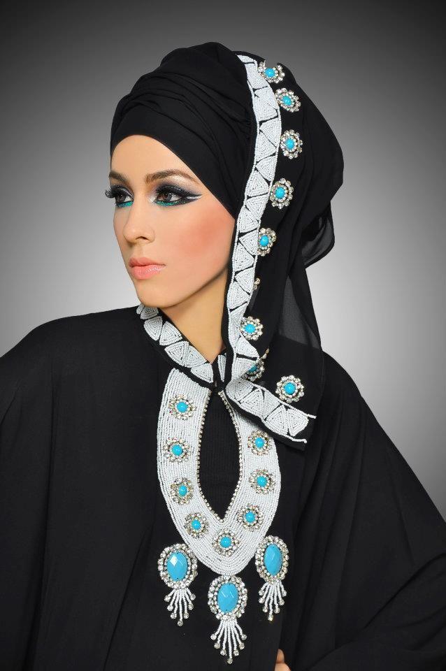 Makeup+Hijab+Abaya= :)