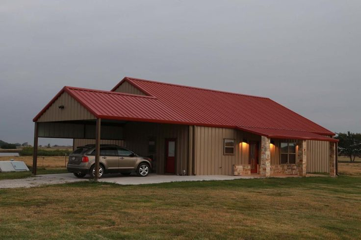 attractive metal buildings for houses #10: Metal Buildings with Living Quarters, Everything You Need To Know | Building,  Metals and Barn