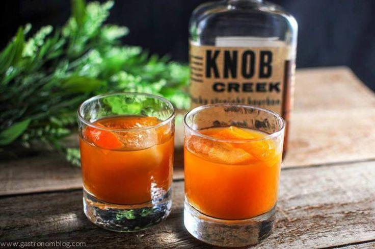 Tangerine Basil Cocktail.
