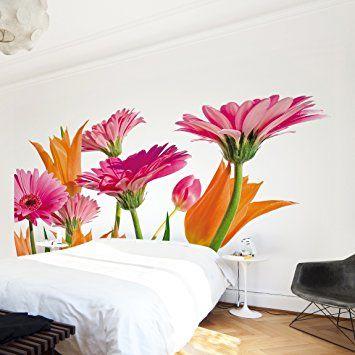 fotomural flower melody mural apaisado papel pintado fotomurales murales pared