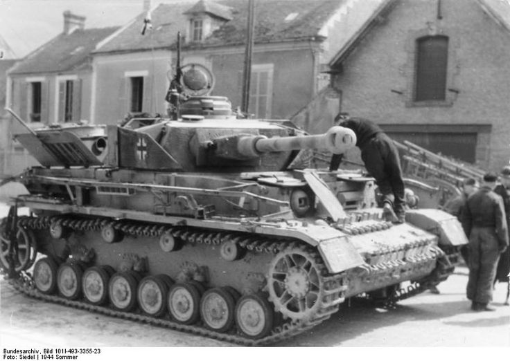 Late model PzKfw IV