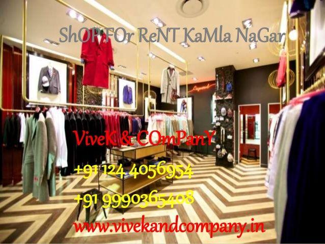 Showroom for Rent Kamla Nagar Delhi by vivek bhaskar via slideshare