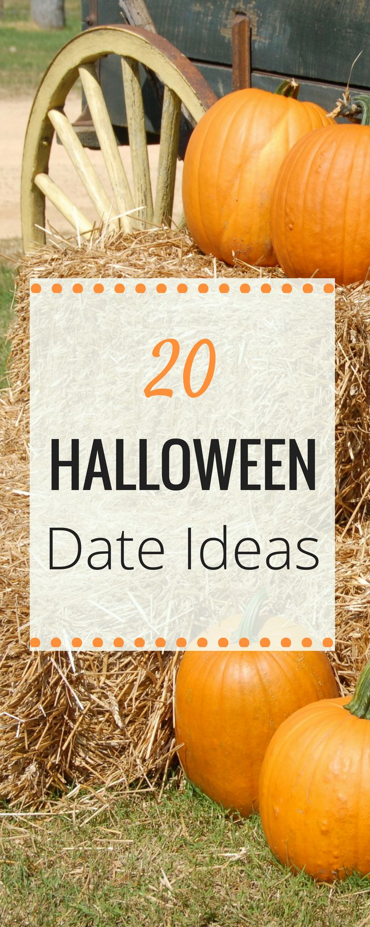 With fall coming up, here is a quick list of fun date ideas for halloween- Easy Halloween Date Ideas to do this fall