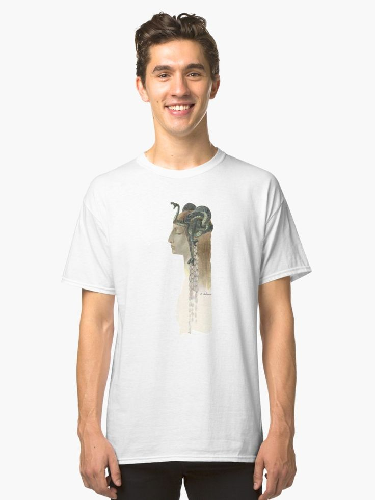 Art Nouveau Medusa - Rene Lalique Classic T-Shirt