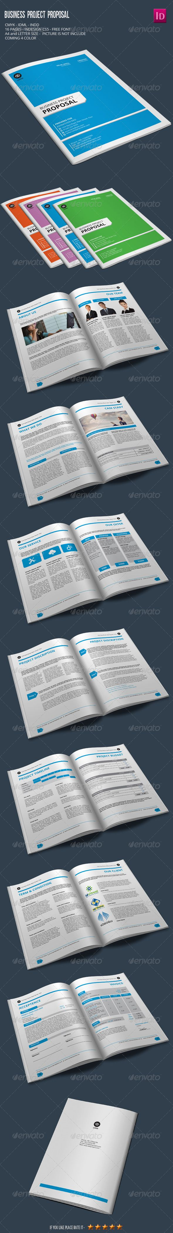 cover letter for bid proposal%0A Business Project Proposal by alimran   DiscriptionA  page sizeReady for  print      DPI CMYK