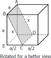 Solved Problem 06 | Cube | Solid Geometry Review