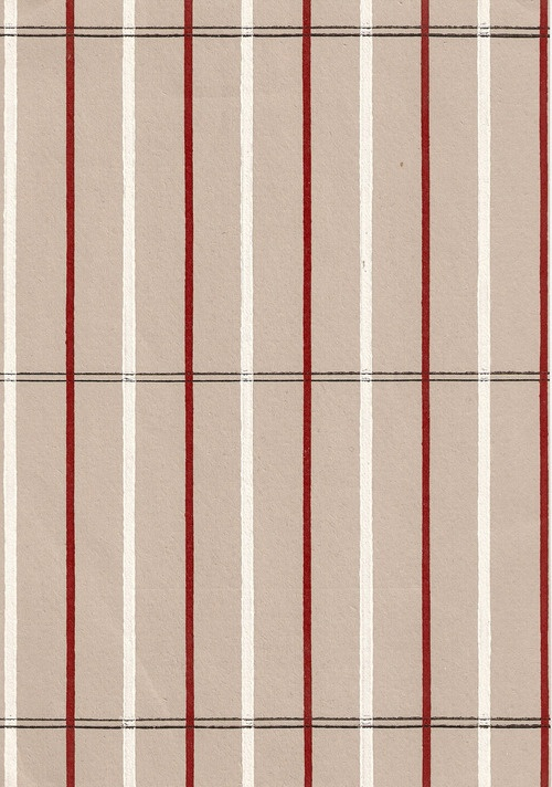 Sample section of modernist wallpaper, developed by Gebrüder Rasch & Co, Hannover in the 1930s in association with the Bauhaus.