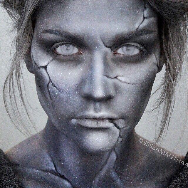 Statue Makeup by Batalash | Halloween Makeup