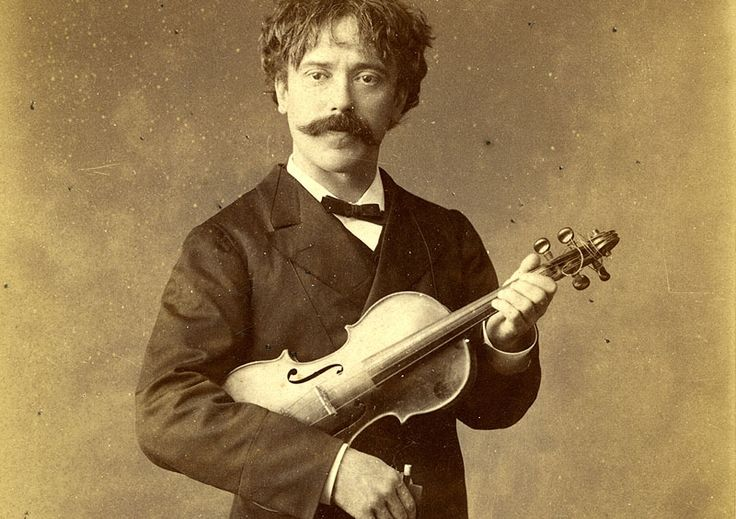 "Pablo de Sarasate photo from a wonderful article by music journalist Jas Osbrecht on ""Sherlock Holmes' Favorite Music"".  Well worth a read."