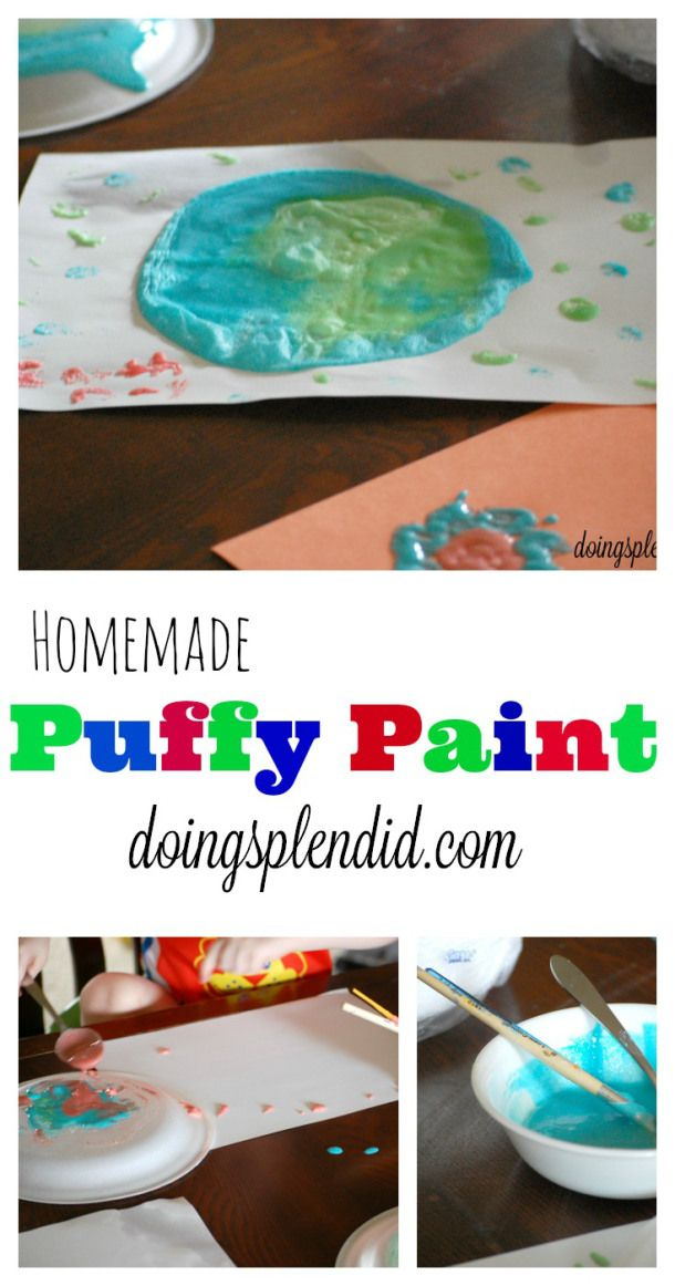 puffy paint craft ideas best 25 paint ideas on 5297