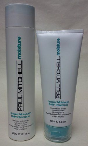 Paul Mitchell Instant Moisture Daily Shampoo 10.14 Oz & Treatment 6.8 Oz by Paul Mitchell. $40.90. Hydrate. Dry Hair. Moisturize. Strengthen. Shine. Paul Mitchell Instant Moisture Daily Shampoo 10.14 oz & Treatment 6.8 oz
