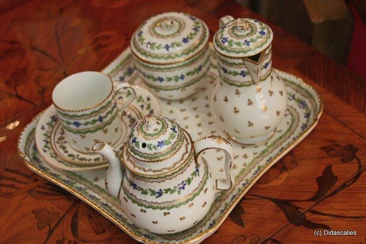 1000 id es sur le th me service de table porcelaine sur for Cuisine xviiie siecle