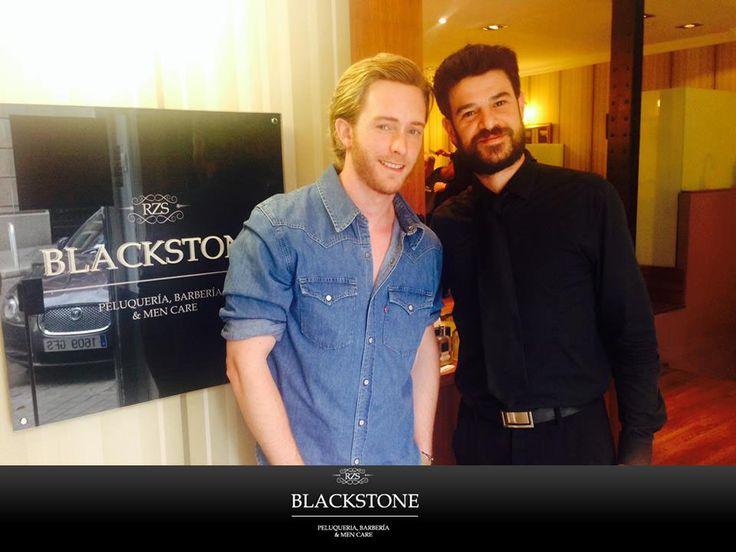 5 de junio 2014 ¿Que te cuente cómo pasó? Pasó en Blackstone: el actor madrileño Pablo Rivero nos visitó en la C/Lagasga, 101 (Madrid). ¡De TVE a nuestro Salón! #CelebritiesBCK http://on.fb.me/1t1cseW