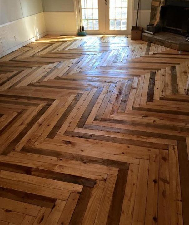 20 Amazing Wooden Floors You Will Never Have At Home | Bored Panda