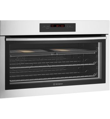 900mm-90cm Westinghouse Electric Wall Oven WVE916SA - Hero Image