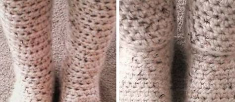 This is the simplest pattern ever! So quick and beautiful and perfect to keep to your feet warm even when it's cold outside. Pretty fashionable too, don't you think? Slipper Boots I used almost four balls of the Lion Brand Hometown USA yarn in Aspen Tweed to get the height that I did. At 2.97 …