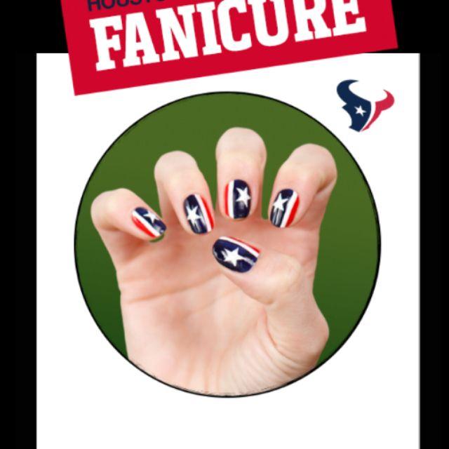 Best 25+ Texans Nails Ideas On Pinterest