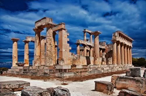 #Aphaia Temple - Aegina Island, Greece